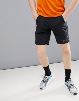 Jack Wolfskin Passion Trail Xt Shorts In Black