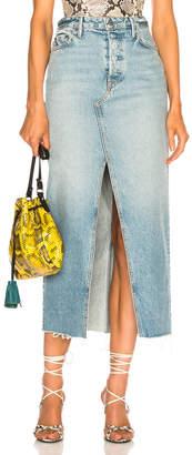 GRLFRND Isla High Rise Midi Skirt