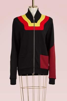 Jour/Né Zipped Jersey Sweater