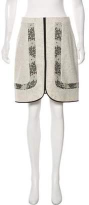 Jason Wu Wool Knee-Length A-Line Skirt
