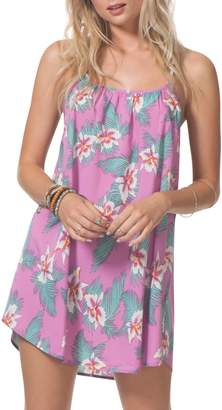 Rip Curl Hot Shot Floral Cover-Up Dress