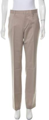 Givenchy Wool Straight-Leg Pants w/ Tags Beige Wool Straight-Leg Pants w/ Tags