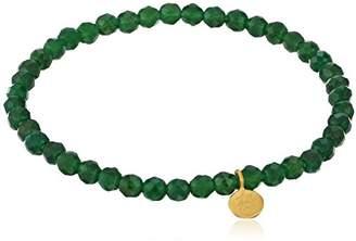 """Satya Jewelry Classics'13"""" Onyx Success Stretch Bracelet"""