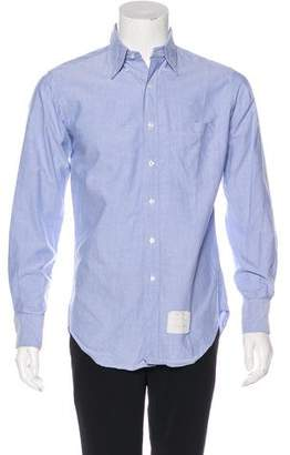 Thom Browne Oxford Button-Up Shirt