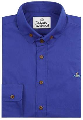 Vivienne Westwood Cotton Logo Embroidered Shirt