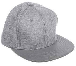 RSVP Paris Leather-Trimmed Snapback Hat