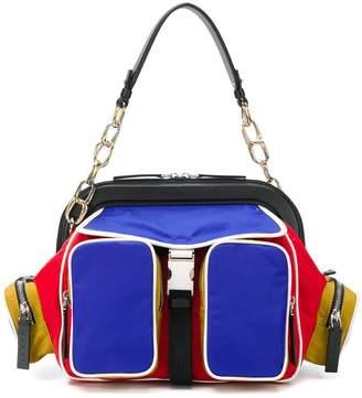 Marni colourblock shoulder bag