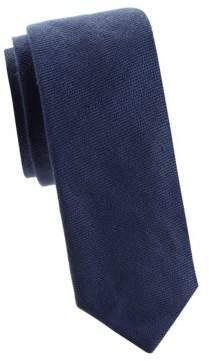 Ralph Lauren Jacquard Linen & Silk Tie