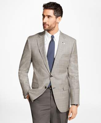 Brooks Brothers Madison Fit Saxxon Wool Check with Deco Sport Coat