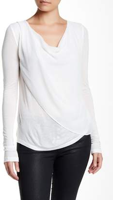Velvet by Graham & Spencer Risa Chiffon Cowl Neck Blouse