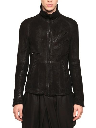 Julius Blistered Nappa Leather Jacket