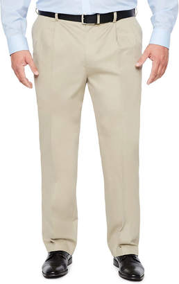 Savane Pleated Ultimate Performance Chino- Big & Tall