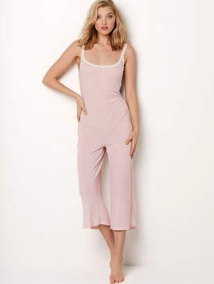 Victoria's Secret Victorias Secret Ribbed Sleep Jumpsuit