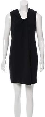 Agnona Virgin Wool Mini Dress