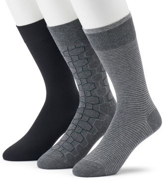 Marc Anthony Men's 3-pack Hexagon Crew Socks