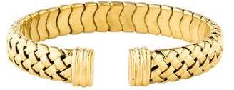 Tiffany & Co. 18K Basketweave Cuff