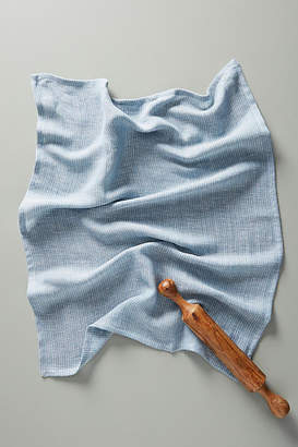 Anthropologie Herringbone Dish Towel