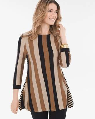 Mixed-Stripe Tunic