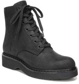 Vince Monastir Straus Suede Combat Boots