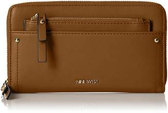Nine West Women's Table Treasures Zip Around with Pouch