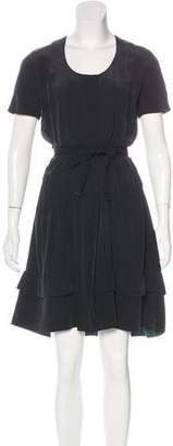 Louis Vuitton Silk Pleated Dress