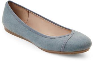 Easy Spirit Blue Gulia Ballet Flats