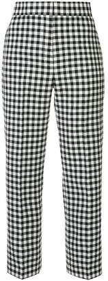 Ports 1961 vichy cropped trousers