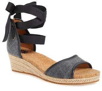 UGG Amell Ankle Wrap Sandal