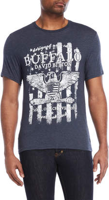 Buffalo David Bitton Naftuli Graphic Heather Tee