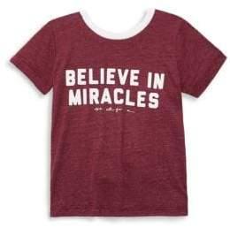 Spiritual Gangster Toddler's, Little Girl's & Girl's Miracles Tee