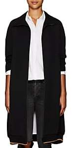 Yohji Yamamoto Regulation Women's Wool Twill Coat - Black