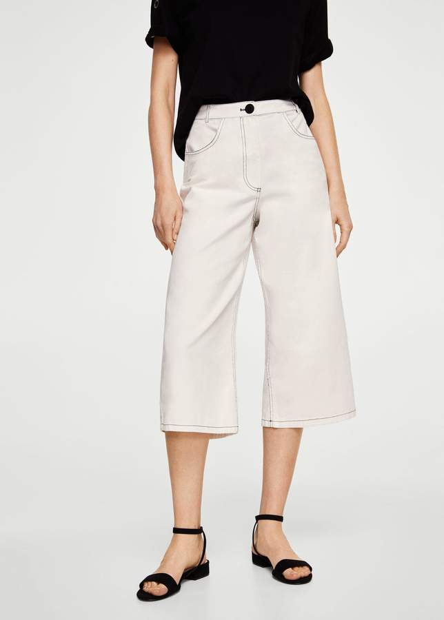 Relaxed Jeans Culotte