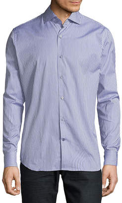 Saks Fifth Avenue Striped Casual Button-Down Shirt