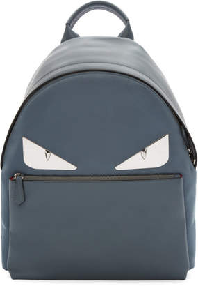 Fendi Grey Metal Bag Bugs Backpack
