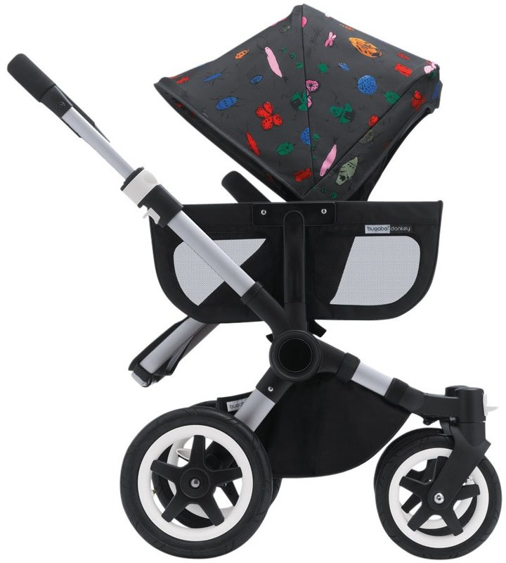Bugaboo Donkey Sun Canopy - Andy Warhol Bugs (Special Edition)