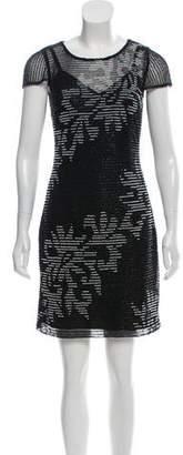 Aidan Mattox Embellished Mini Dress