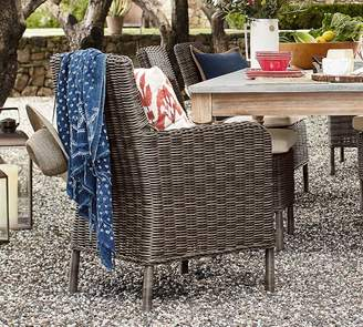 Pottery Barn Roll-Arm Chair Frame & Cushion