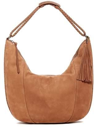 Lucky Brand Myra Leather Hobo Bag