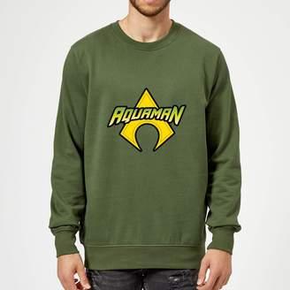 Justice League Aquaman Logo Sweatshirt