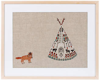 Coral & Tusk Tipi and Fox