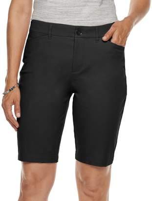 Croft & Barrow Women's Classic Stretch Bermuda Shorts