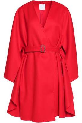 Agnona Belted Wool Cape
