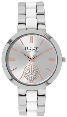 Nanette Lepore NANETTE Women's Two-Tone Watch, 38mm