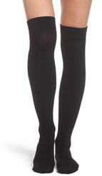 DKNY SkinSense(TM) Fleece Over the Knee Socks