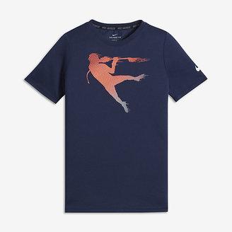 Nike Dry Thompson Brothers Big Kids' (Boys') Lacrosse T-Shirt $30 thestylecure.com