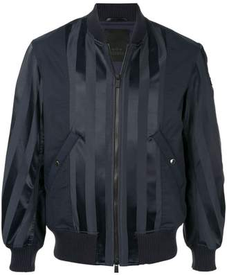 Tatras striped bomber jacket