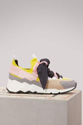 Pierre Hardy Leather sneakers