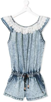 Vingino TEEN lace-trimmed playsuit