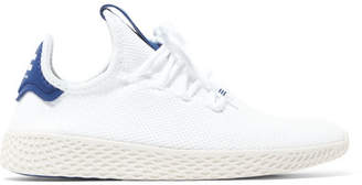 adidas + Pharrell Williams Tennis Hu Stretch-knit Sneakers - White