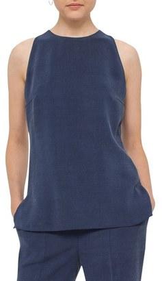 Women's Akris Punto Cutout Back Sleeveless Top $295 thestylecure.com